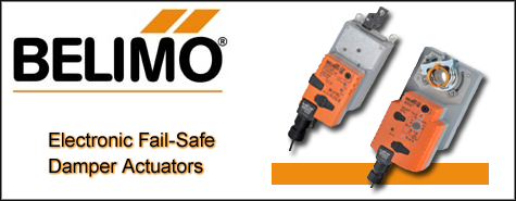 Belimo Electronic Fail-Safe DamperActuators