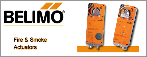 Belimo Fire and Smoke Actuators