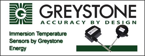 Greystone Energy Immersion Temperature Sensors