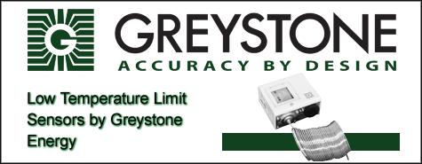 Greystone Energy Low Temperature Limit Sensors