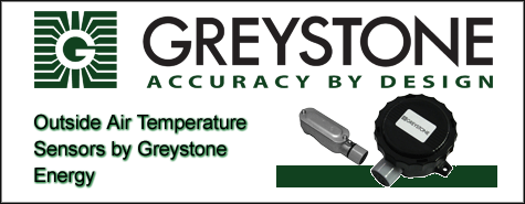 Greystone Energy Outside Air Temperature Sensors